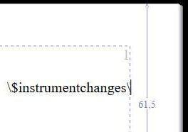 Explicar cambios de instrumento de Sibelius
