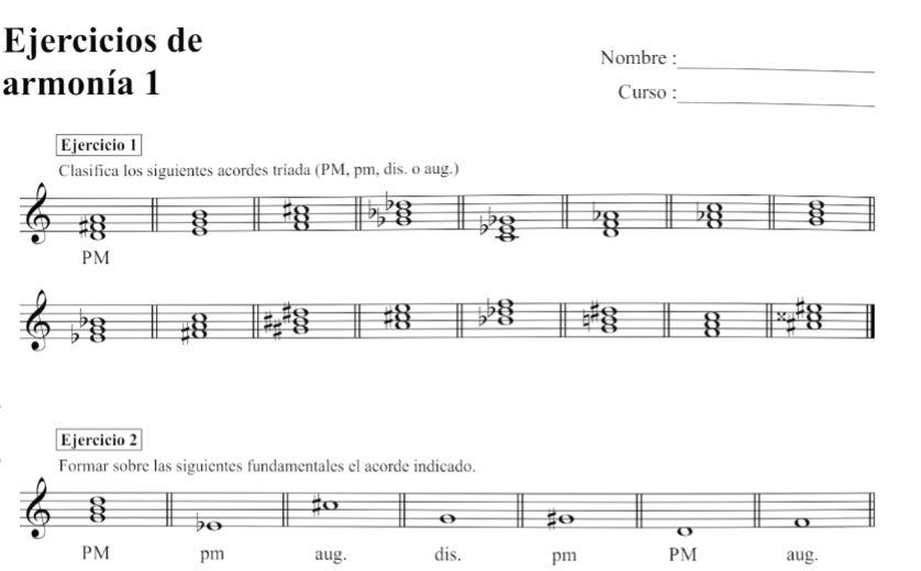 Edición de material didáctico musical